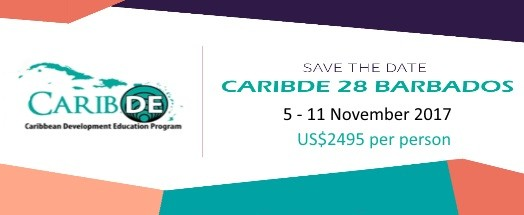 CaribDE28 Barbados Register Now