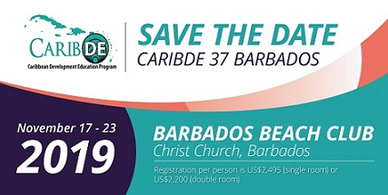 CaribDE37 Barbados Register Now