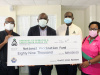 Donation of $89,000 to Barbados' National Vaccine Fund by Local Credit Unions